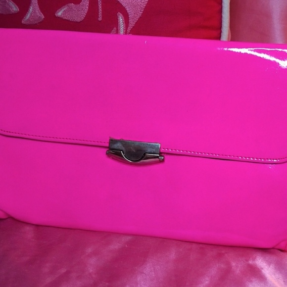 new varieties distinctive design quality first Neon pink clutch